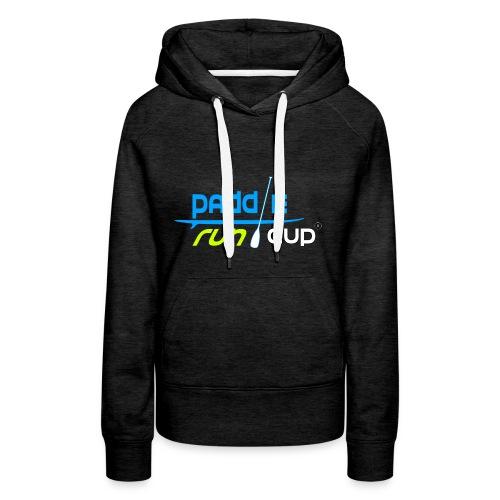 paddle_run_couleur_d--tour-- - Sweat-shirt à capuche Premium pour femmes