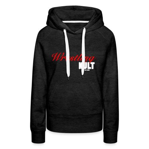 WK_Logo_Weiß - Frauen Premium Hoodie