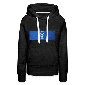At Sign Dark Blue - Vrouwen Premium hoodie