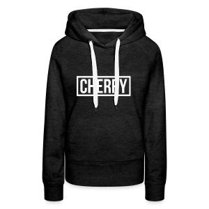 Cherry White - Vrouwen Premium hoodie