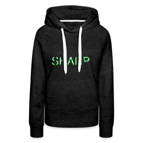 Sharp Clan grey hoodie - Women's Premium Hoodie