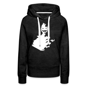 t shirt monster (black/schwarz) - Frauen Premium Hoodie