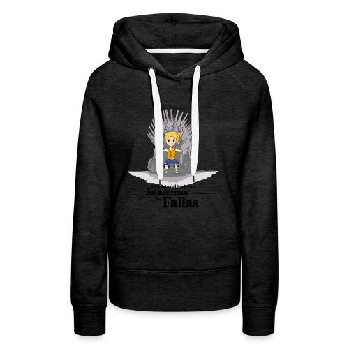 Camiseta hombre: Se acercan las fallas - Sudadera con capucha premium para mujer