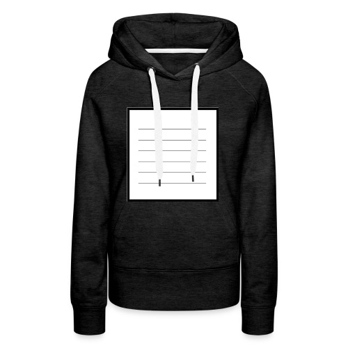 tell me what you think - Frauen Premium Hoodie