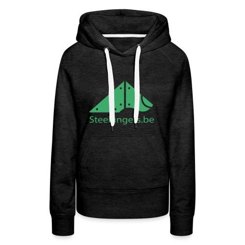 Steelfingers shirts - Vrouwen Premium hoodie