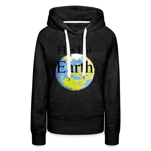 Flip For Earth T-shirt - Premiumluvtröja dam