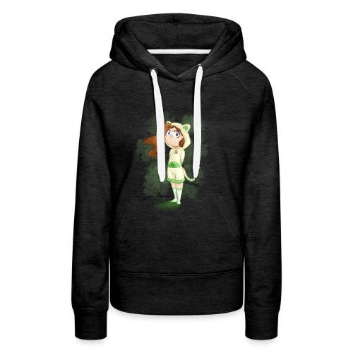 CatMad - Sweat-shirt à capuche Premium pour femmes