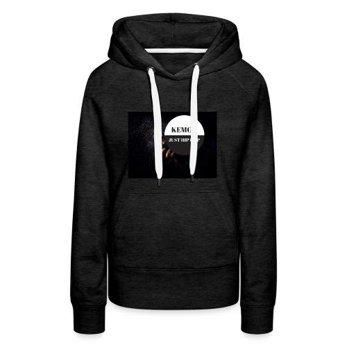 KeMoT odzież limitowana edycja - Bluza damska Premium z kapturem