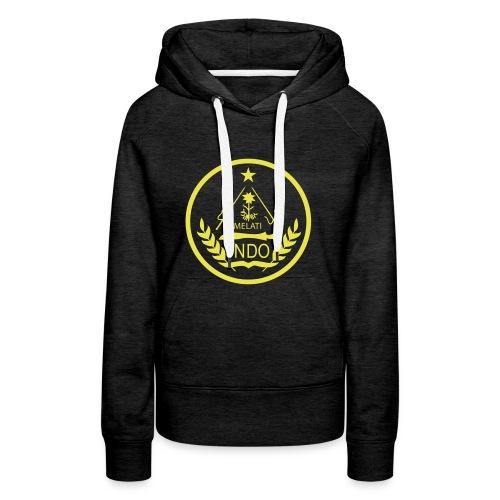 Indo_Melati_GEEL - Vrouwen Premium hoodie