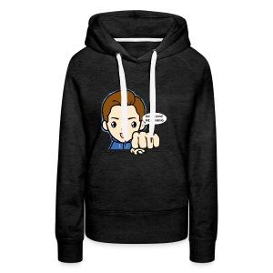 Don't leave me hanging - Vrouwen Premium hoodie