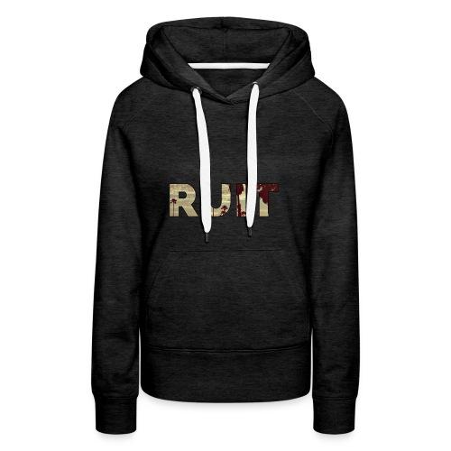 Ruit Palm Trees - Vrouwen Premium hoodie