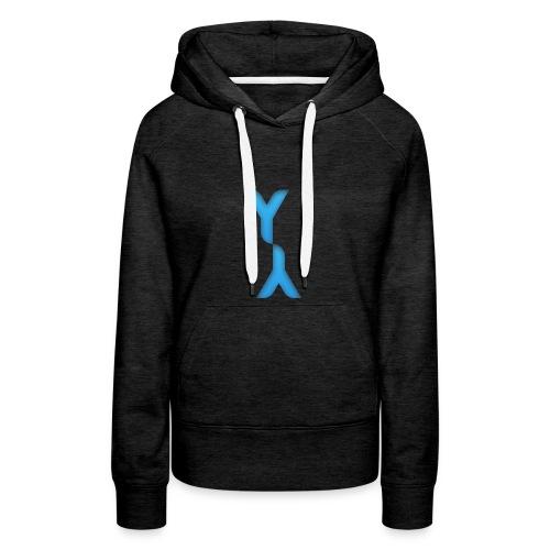 Logo Officel Yandaillou - Sweat-shirt à capuche Premium pour femmes