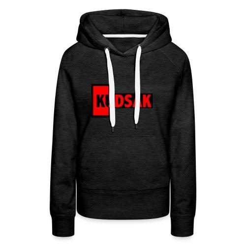 kudsak - Sweat-shirt à capuche Premium pour femmes