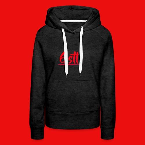 Gstl Red Logo - Women's Premium Hoodie