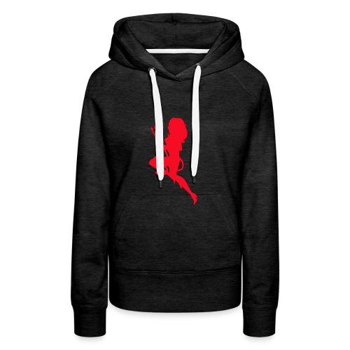 Duiveltje vrouw - Vrouwen Premium hoodie