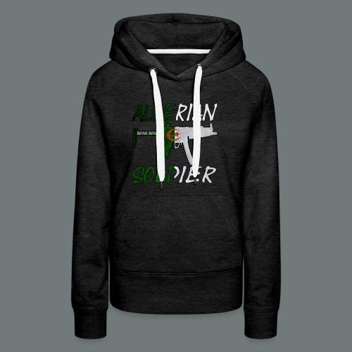 Algerian Soldier Trui (Heren) - Vrouwen Premium hoodie