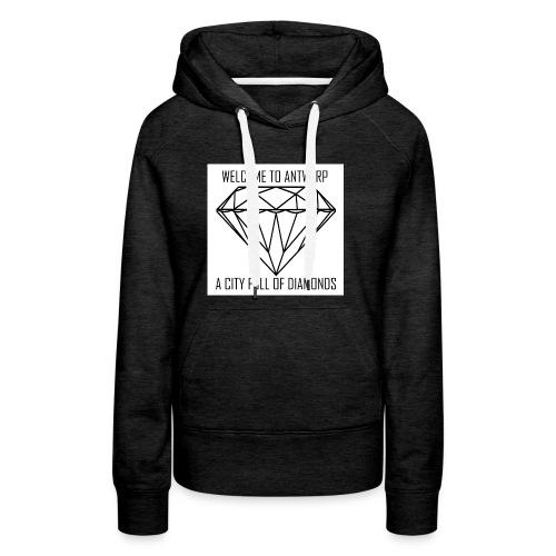 Antwerp lover - Vrouwen Premium hoodie