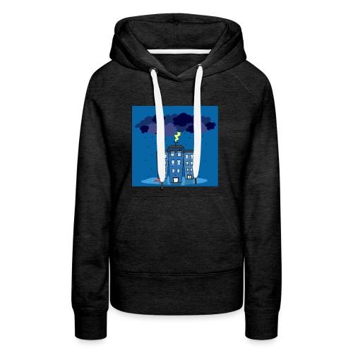 onweer-jpg - Vrouwen Premium hoodie
