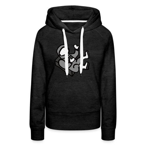 Lost in space - Vrouwen Premium hoodie