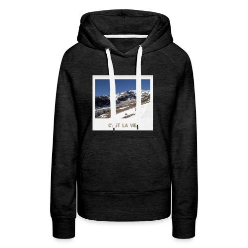 Mountains - Frauen Premium Hoodie