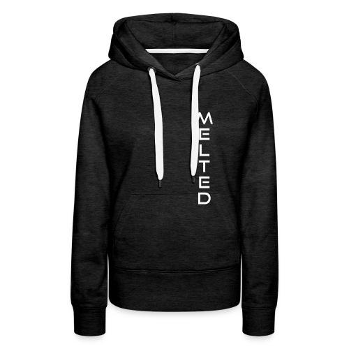 MELTED - Vertical 2.0 - Sudadera con capucha premium para mujer