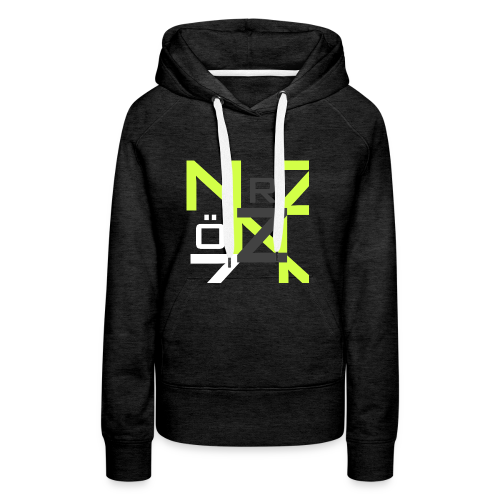 Nörthstat Group™ Clear Transparent Main Logo - Women's Premium Hoodie