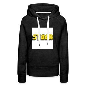stoer shirt - Vrouwen Premium hoodie