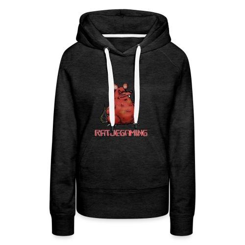 RatjeGaming Onderzetters - Vrouwen Premium hoodie