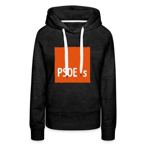 PSOEs - Sudadera con capucha premium para mujer