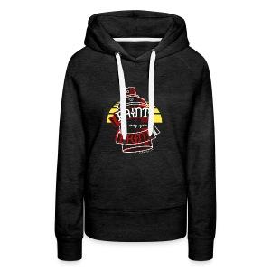Paint the way you Print - Black - Vrouwen Premium hoodie
