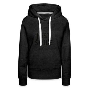 JustSmile Smile - Vrouwen Premium hoodie