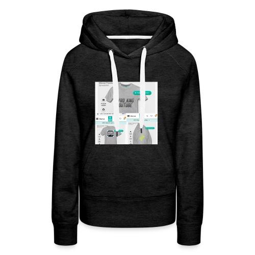 Pyro_King T-shirt - Frauen Premium Hoodie