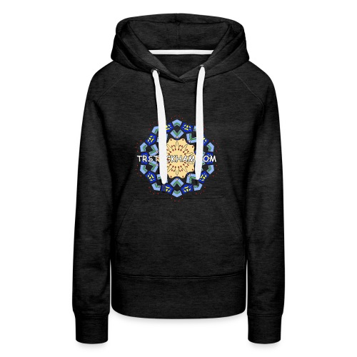 Enjoyably Quirky Colouring Book Design 7 - Women's Premium Hoodie