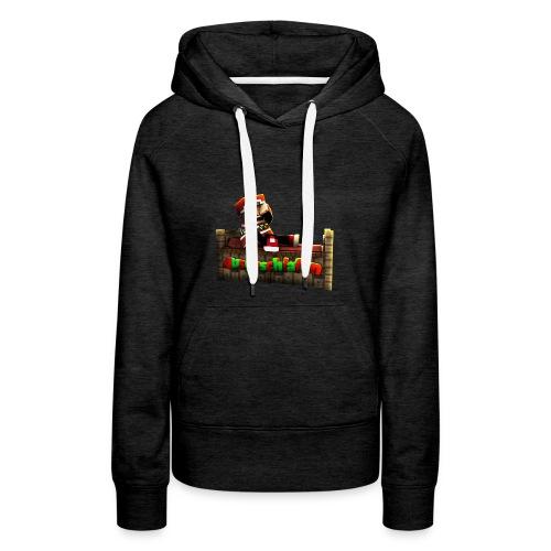#Ausgeschlafen Weihnachts-Hoddie - Frauen Premium Hoodie