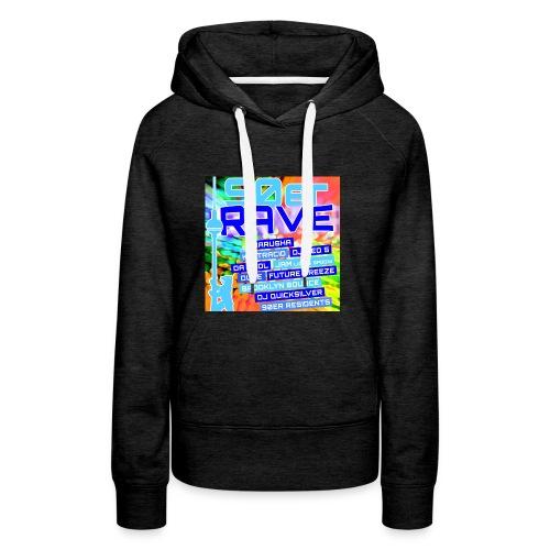 90erRave - Frauen Premium Hoodie