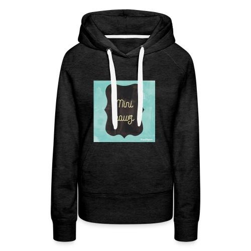 M.ini bawz - Vrouwen Premium hoodie