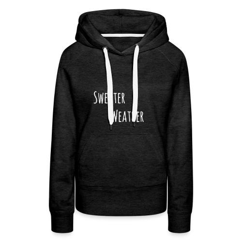 sweaterwea therwhite - Frauen Premium Hoodie