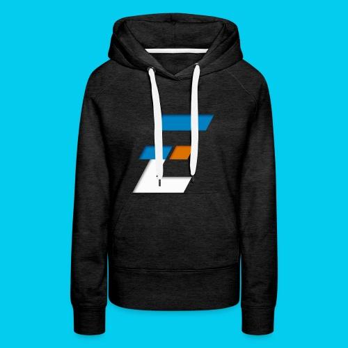 Electronic-series - Sweat-shirt à capuche Premium pour femmes