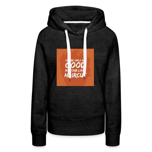 Orange_Toupee - Vrouwen Premium hoodie