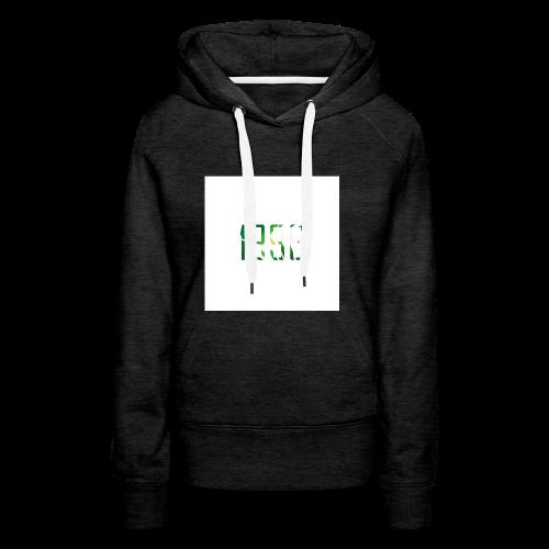 Logo_pflanzen - Frauen Premium Hoodie
