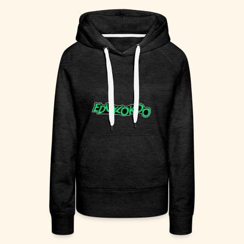 eduxlokoo ñe - Sudadera con capucha premium para mujer