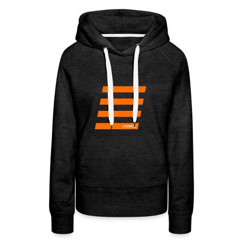Orange Bars - Frauen Premium Hoodie