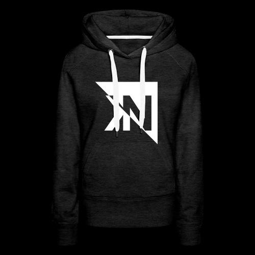 KN Logo halb invertiert - Frauen Premium Hoodie