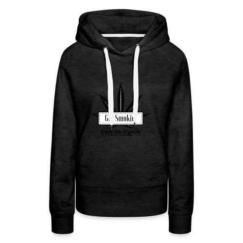 GetSmokin Logo - Vrouwen Premium hoodie