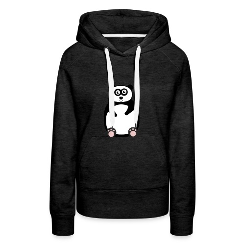 panda-png - Premiumluvtröja dam