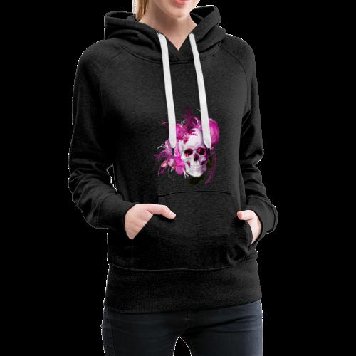 Pink fantasy skull - Premiumluvtröja dam