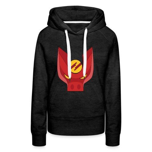Logo_Oyol - Sweat-shirt à capuche Premium pour femmes