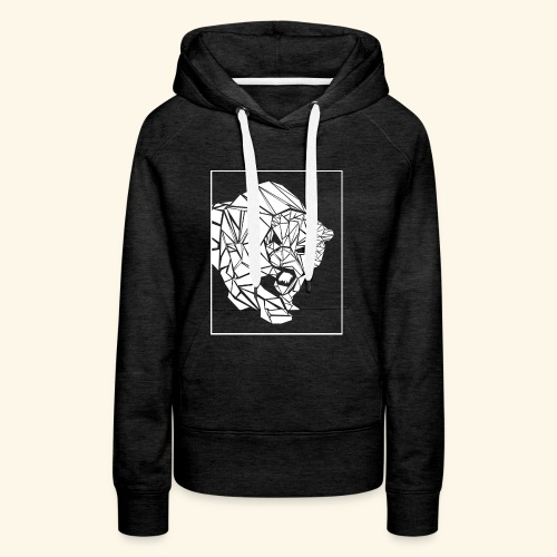 Panther, abstrakt - Frauen Premium Hoodie