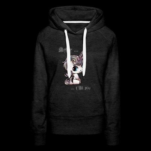 lucille -the walking unicorn - Frauen Premium Hoodie