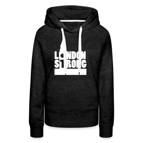 London Strong II - Women's Premium Hoodie